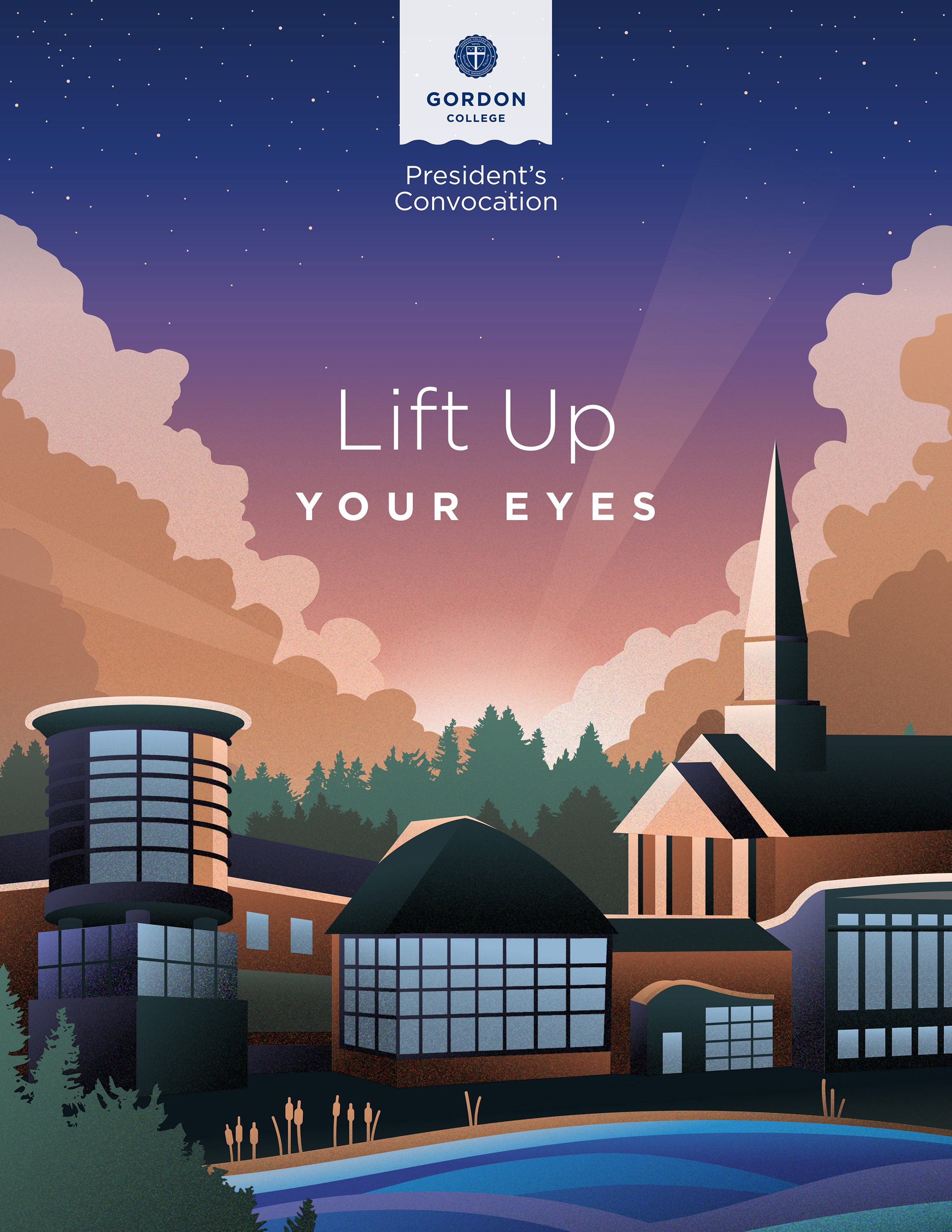 Lift Up Your Eyes digital illustration